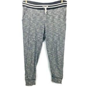 AEO Jogger Skinny Slouch Women's Gray Zipper Cuff